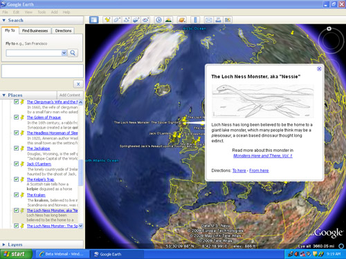 Goggle Map